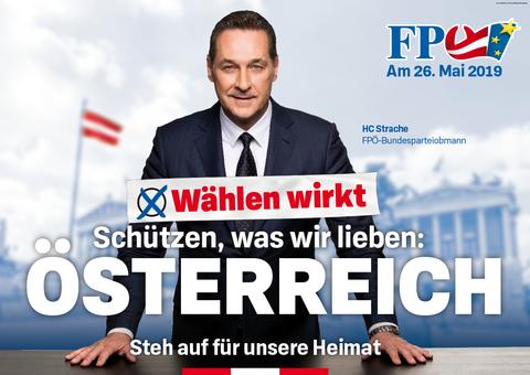 Afbeeldingsresultaat voor FPÖ wahlplakat