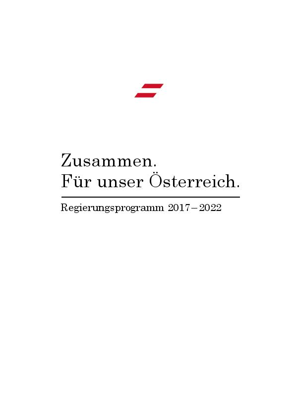 Zusammen Für Unser österreich