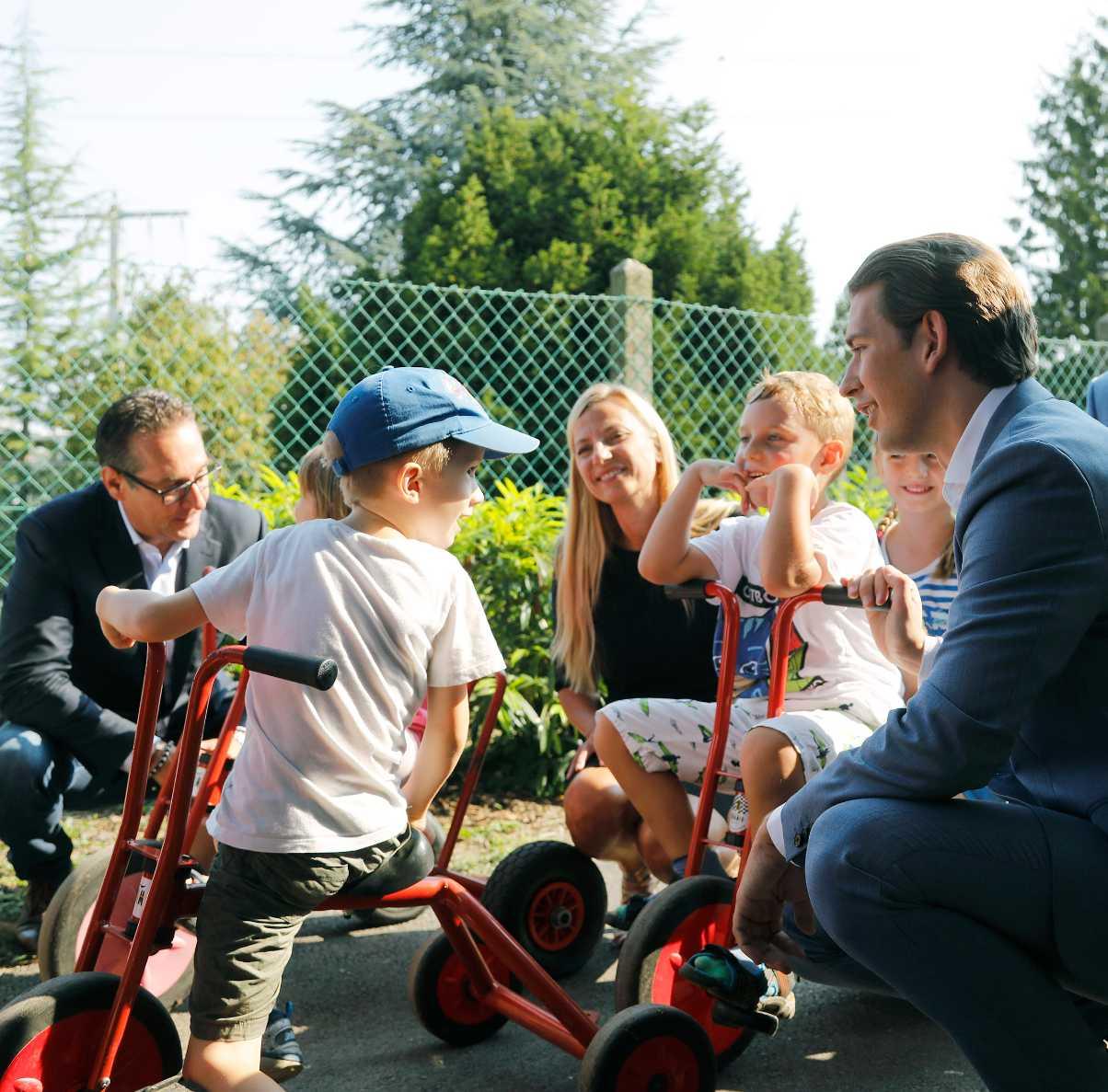 722 Millionen Euro Für Die Kinderbetreuung Freiheitliche Partei