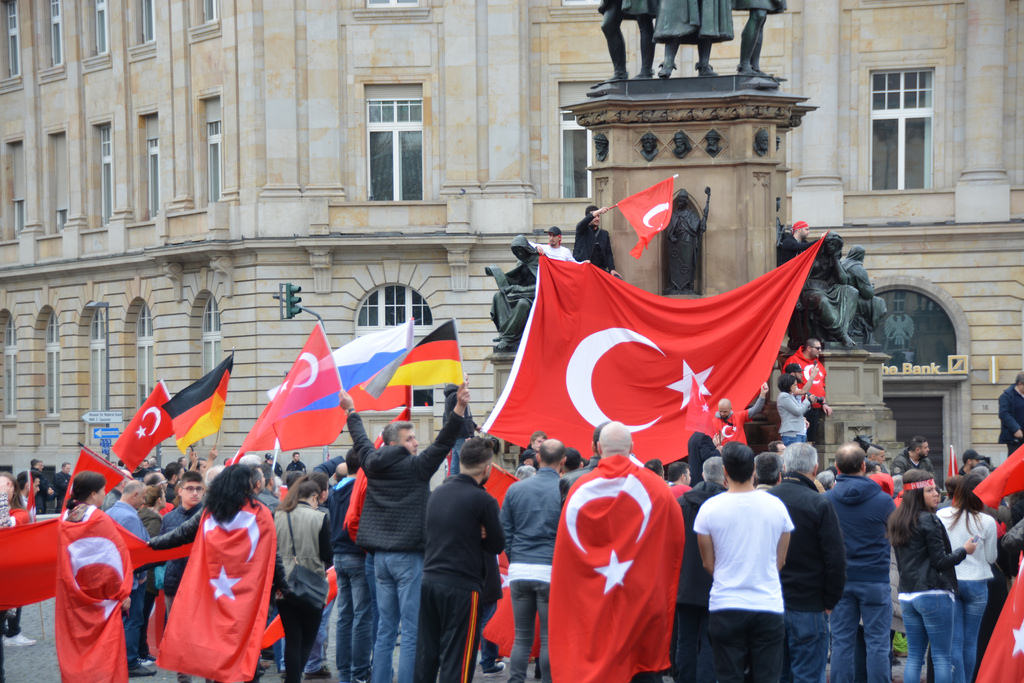 Demonstration Türken